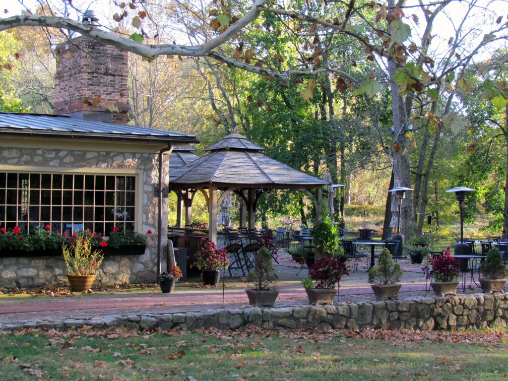 Bridgetown Mill House Restaurant patio