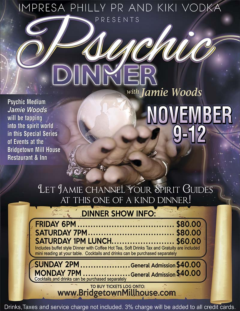 Psychic Dinner with Jamie Woods