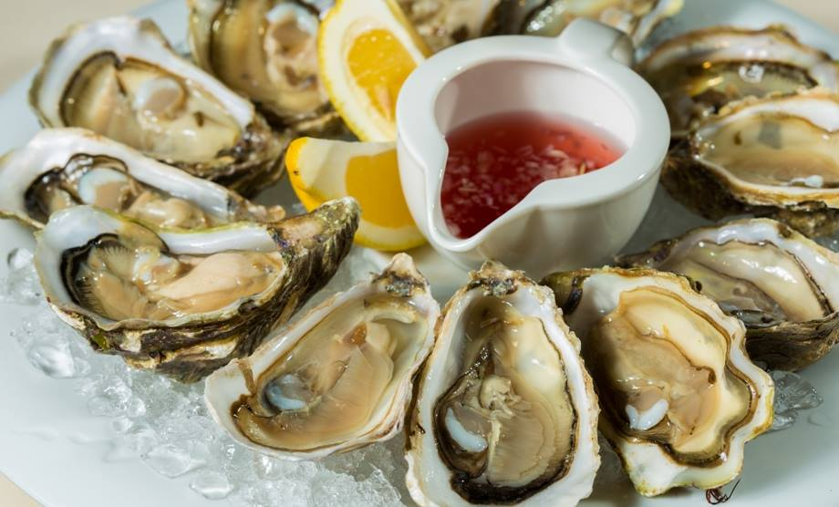 THURSDAY and FRIDAY SPECIAL 20% OFF BLUE POINT OYSTERS